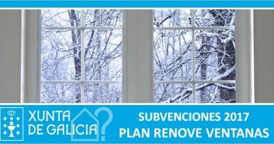 PLAN RENOVE FIESTRAS 2017 Xunta de Galicia